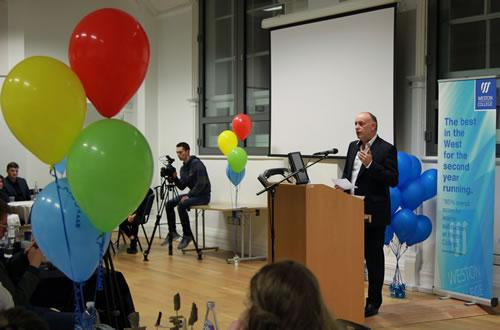 Andrew Scott inspires Weston College students