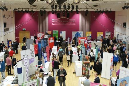 Weston-super-Mare job fair at the Winter Gardens