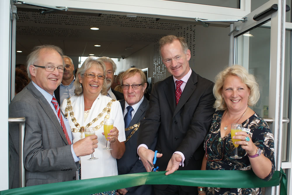 The Hive opening with John Penrose MP