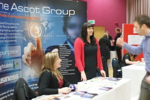 Ascot group attend the job fair at the Winter Gardens in Weston-super-Mare