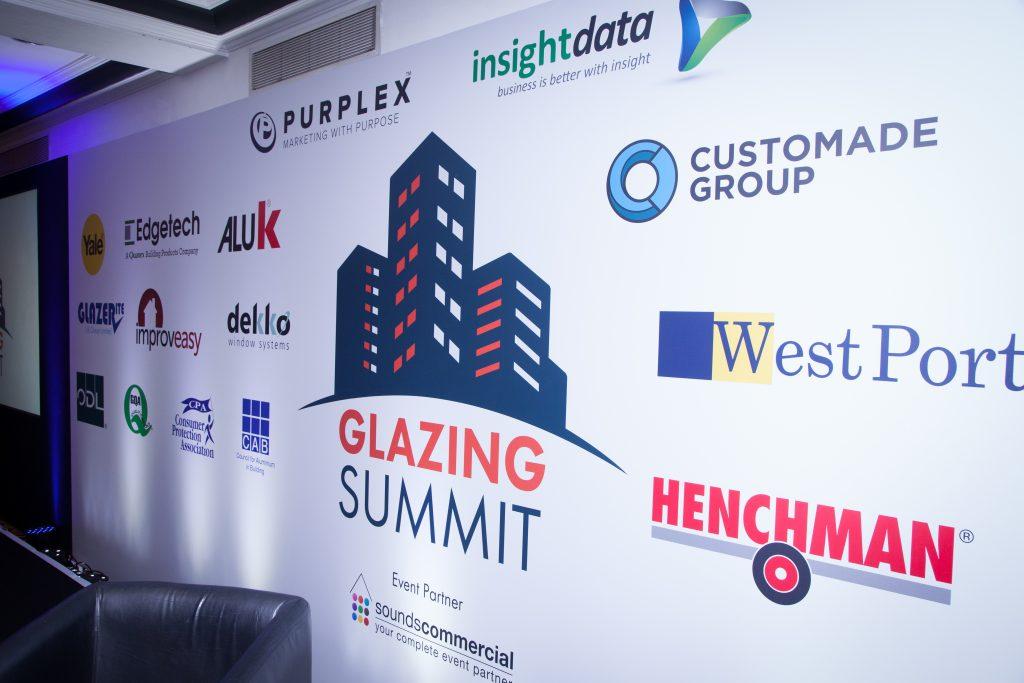 the Glazing Summit banner