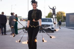 2018 Business Leader Fire performer