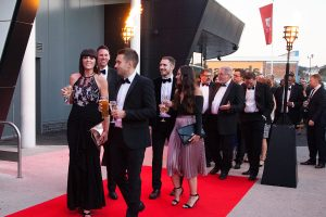 Red carpet at Business Leader